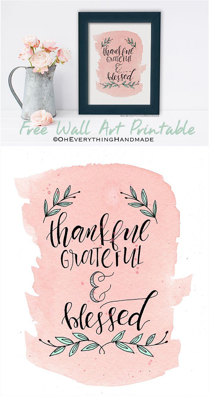 71 besten Free Printable Thank you cards, tags, etc. Bilder auf ...