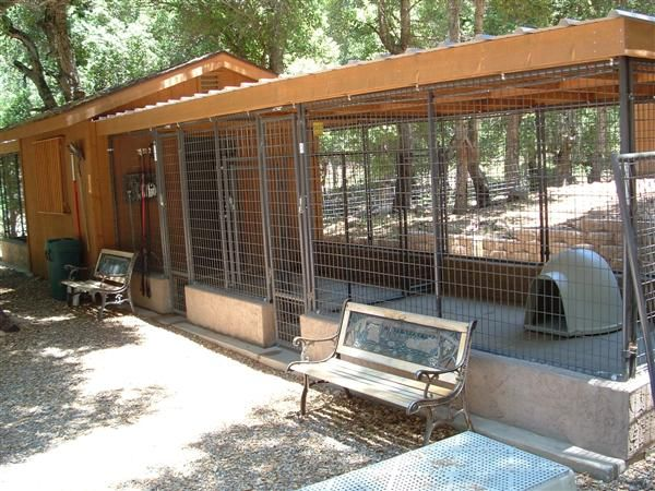 free plans and information for building outdoor dog kennels - Dog Kennel Design Ideas