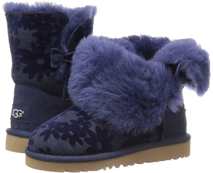 ec4fc58bcad UGG Kids - Bailey Button Flowers Girl's Shoes #UGG #girlsshoes ...