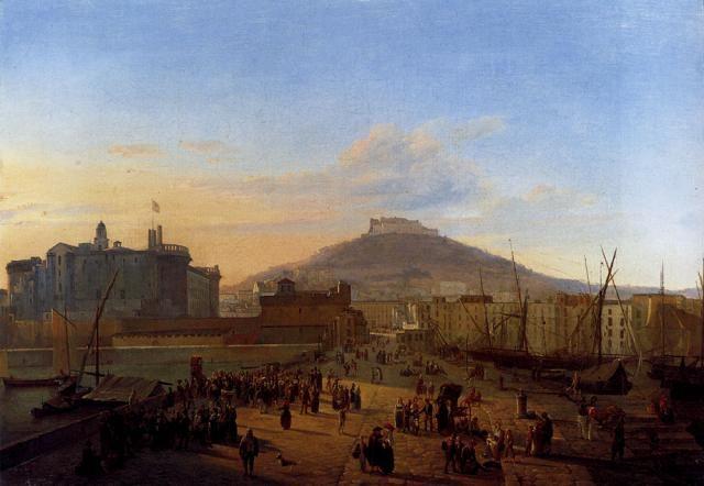 Frans Vervloet (1795-1872) Napoli, da Toledo - Italy
