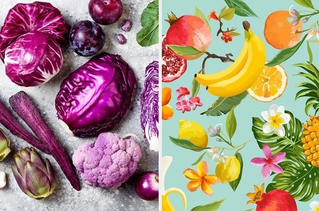 Everyone Is Either A Fruit Or A Vegetable Which One Are You Vegetables Fruit Buzzfeed Food