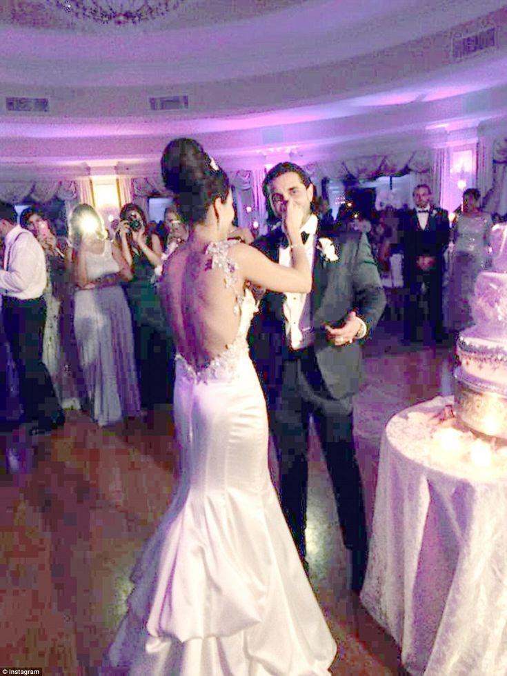 What a wedding! John Gotti's grandson John Agnello wed Alina Sanchez in a star-studded wedding last week
