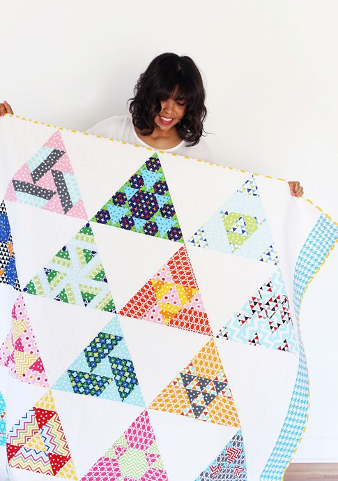 my jaybird quilt / toes in the sand / ann kelle