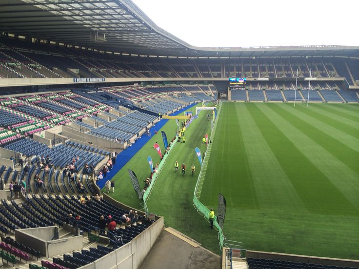 Pedal for Scotland finish at Murrayfield Stadium