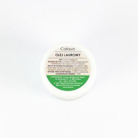 """Olej Laurowy - Niezbędny w pielęgnacji cery trądzikowej. Pokochają go wszystkie 'włosomaniaczki"""": pobudza wzrost, regeneruje i uelastycznia suche i łamliwe włosy. To nie wszystko! Olej laurowy łagodzi swędzenie skóry głowy i pomaga w walce z łupieżem!"""