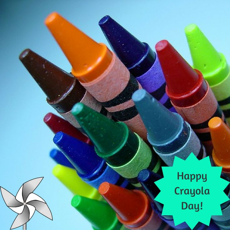 March 31 is National Crayola Crayon Day! In honor of our
