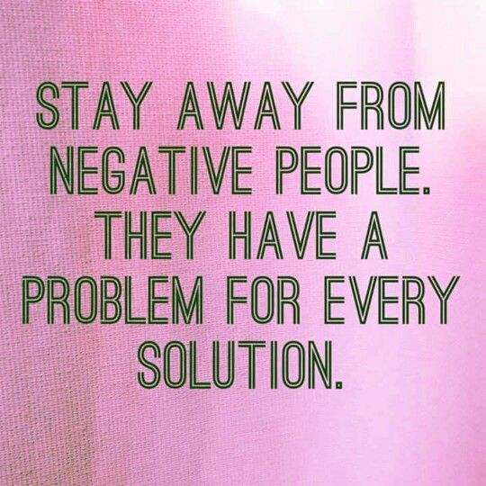 Keep Away Negative People Quotes Quotes