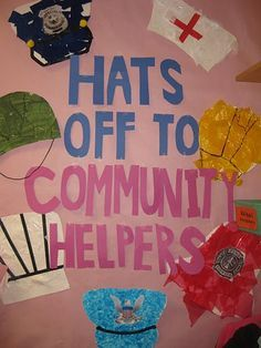 matching hat to body community helpers - Google Search