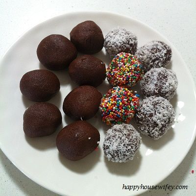 Super Simple Chocolate Truffles (Can be made with or without Thermomix)