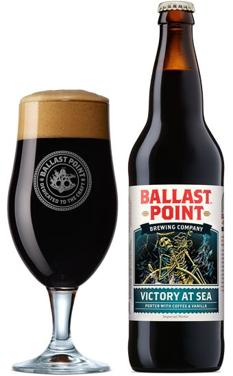 Ballast Point - Victory At Sea Coffee Vanilla Imperial Porter