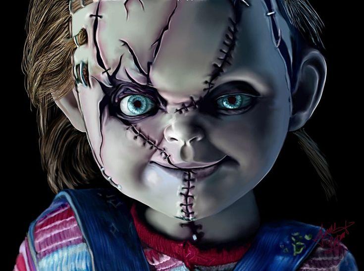 Chucky by Shaytan666.deviantart.com on @deviantART