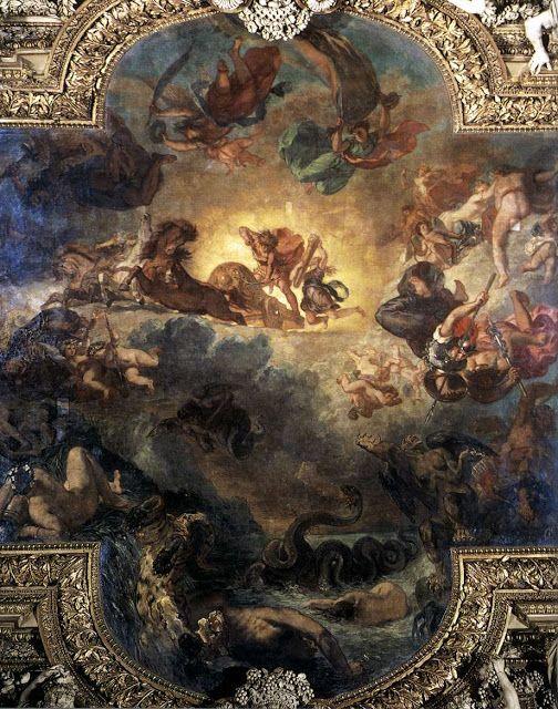 Ο Απόλλων σκοτώνει τον πύθωνα (1850-51)