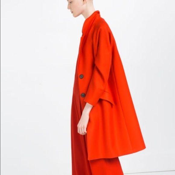 Zara Jackets & Coats - ‼️SALE ‼️Zara Woman Coat with Flap pockets