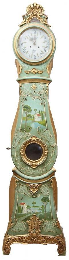Mora clock l Original Antique Swedish Mora Clocks by Gustavian