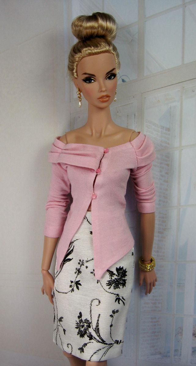 site with barbie-patterns based on 50's /60's fashion