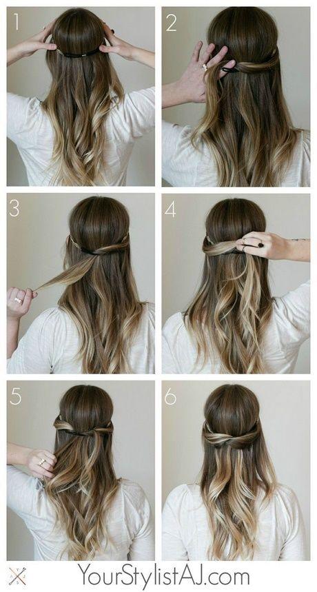 Schnelle Einfache Festliche Frisuren Hair Dos Frisuren Lange