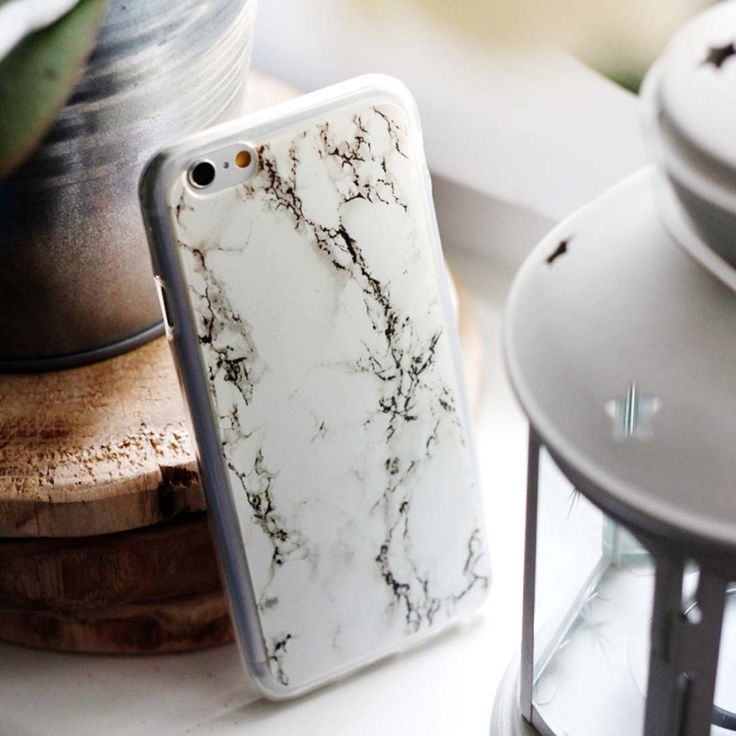 White marble on case --> more www.etuo.pl