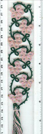 Flower Bookmark/Edging - ©1998-2009, Paradise Treasures