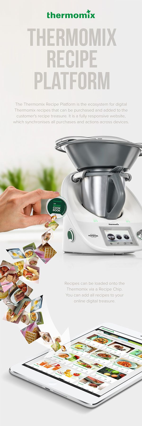 Thermomix Recipe Platform: Responsive Website on Behance
