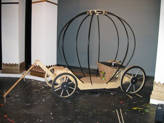 Cinderella carriage by Craig Morgan.