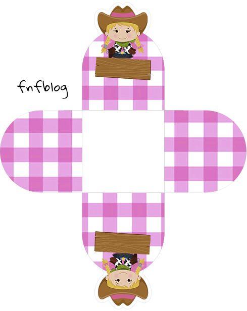 Forminhas Docinhos 3D Fazendinha Menina