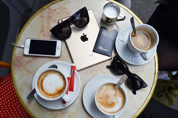 coffe, paris, apple, iphone, ipad, rayban, chopard