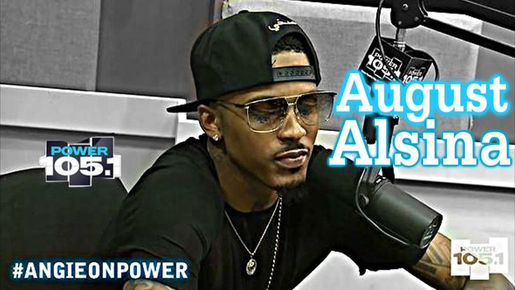 August Alsina Interview With Angie Martinez Power 105.1....YALL GO LOOK AT THIS INTERVIEW WITH AUGUST.