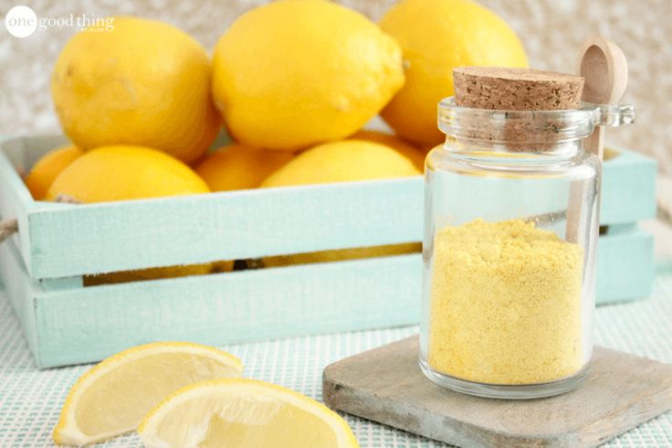 How To Make and Use Dried Lemon Peel - One Good Thing by Jillee