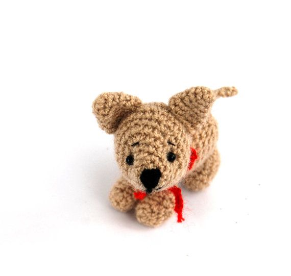 $36.82 CHIHUAHUA dog, crochet little dog, amigurumi #chihuahua dog, little crochet pet, smallest dog crochet, miniature #dog, #small dog collectible toy by crochAndi