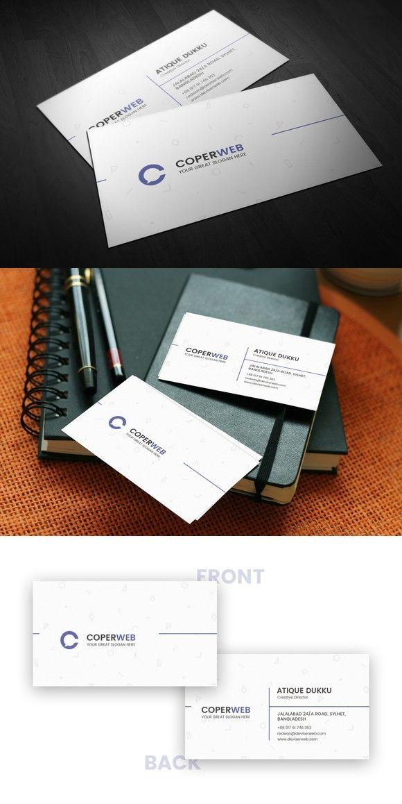 The  Best Minimal Business Card Ideas On   Black