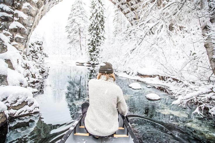 Canoe and Boys // ANNIEVELIINA