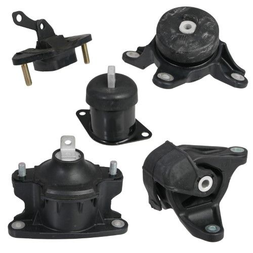 5pc Motor Mounts Set Kit Compatible With 08-12 Honda