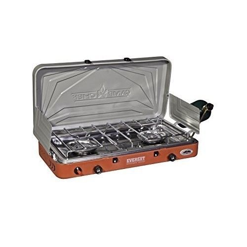 Portable Heater Propane Outdoor Camp Chef Everest High Output 2 Burner Stove NEW #CampChefEverest