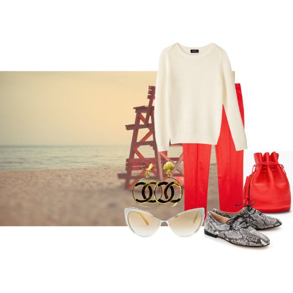 """To the beach"" by lalasfashiondreamworld on Polyvore"