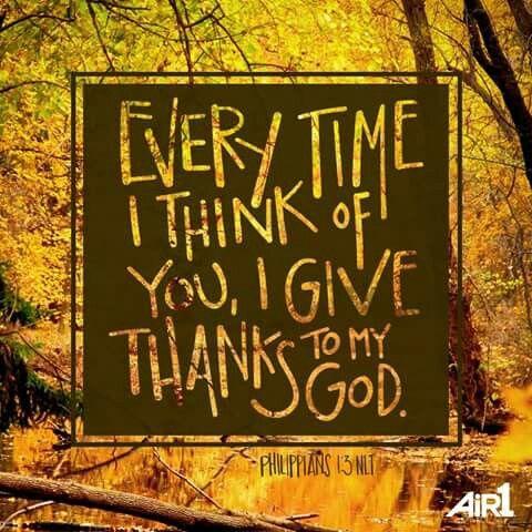 Phillipians 1:3