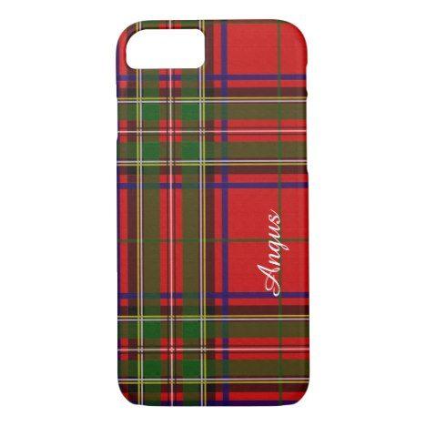 Monogram Royal Clan Stewart Tartan Phone Case #tartan #protective #cases