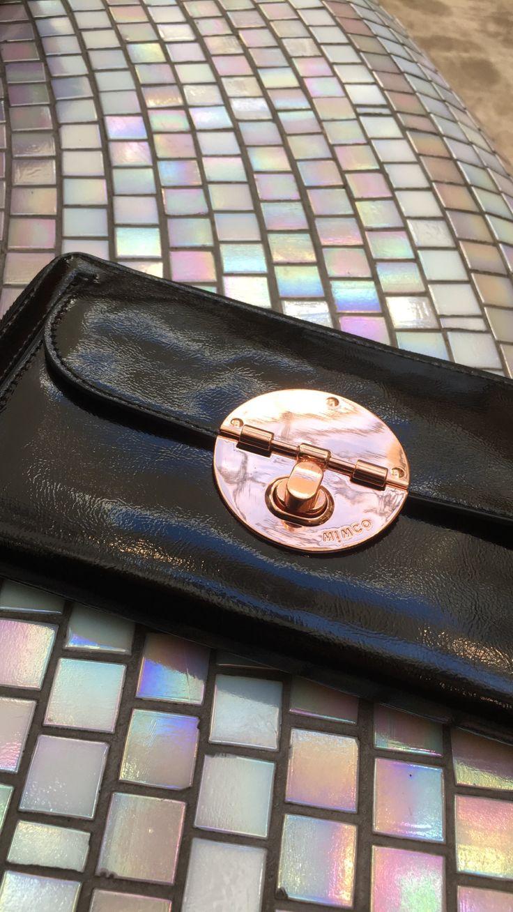 Mimco rose gold purse