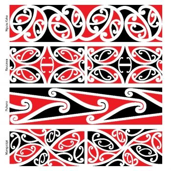 Maori, Patterns and Kiwiana on Pinterest