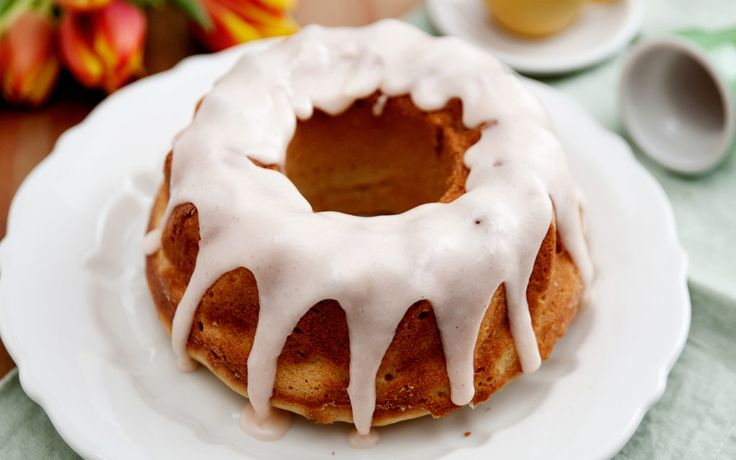 """The root beer intensifies the cocoa in the cake, but also makes the cake moist,"" chef Carla Hall says of her root beer bundt cake. ""It reminds me of a root beer float: cold, fizzy and creamy at the same time.""  http://communitytable.parade.com/321998/carlahall/carla-halls-root-beer-bundt-cake/"