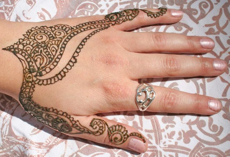 Mehndi Designs for Back of Hand