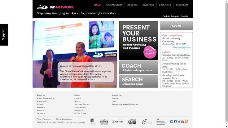 BID network es una plataforma del Banco Interamericano de Desarrollo que busca impulsar proyectos empresariales.