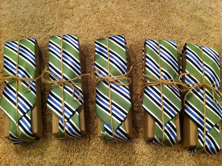 Grooms gifts with ties