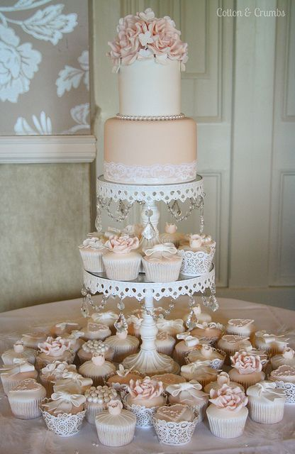 Nude & white by Cotton and Crumbs, via Flickr