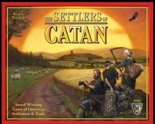 カタンの開拓者たち / The Settlers of CATAN (※「日本語説明書」は付属していません) Mayfair Games, http://www.amazon.co.jp/dp/B000W7JWUA/ref=cm_sw_r_pi_dp_vvB8qb1P343Y1