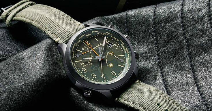 The Timex Waterbury World Time Watch Pays Tribute to Tradition