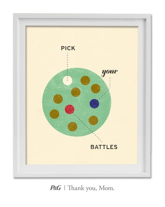 """""""Pick your battles."""" In the spirit of Mother's Day, tweet the words of wisdom she passed down to you with #momswisdom or post on https://www.facebook.com/thankyoumom"""