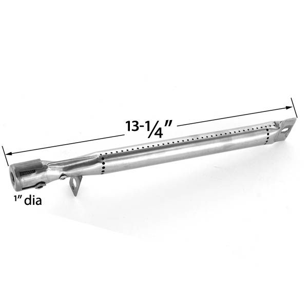 REPLACEMENT STAINLESS STEEL BURNER FOR OMAHA B09LB1-32, BBQ PRO BQ04022 AND OUTDOOR GOURMENT BO9LB1-32 GAS GRILL MODELS  Fits Compatible Omaha Models : B09LB1-32, BQ04023, BQ04023-1, BQ04023-2, BQ04025, BQ04028 Read More @http://www.grillpartszone.com/shopexd.asp?id=34858&sid=17076