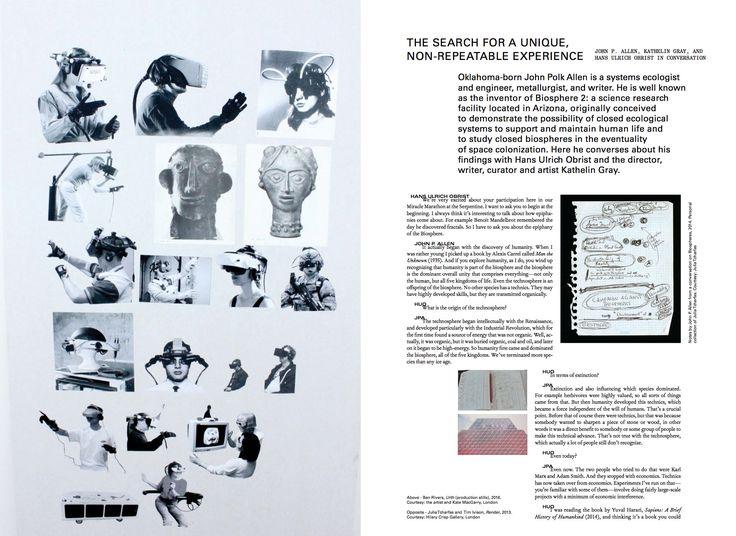 #moussemagazine #johnpallen #hansulrichobrist #kathelingray  #art #contemporaryart
