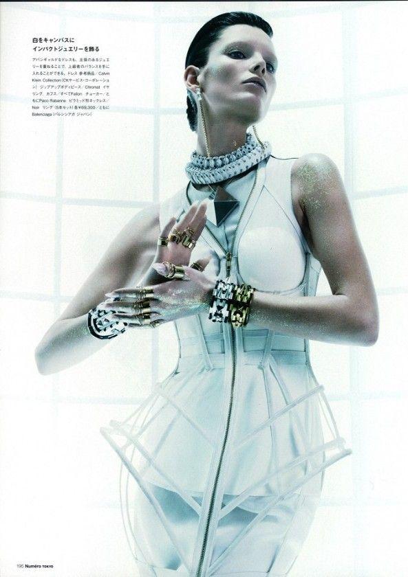 Ava Smith by Benjamin Lennox for Numéro Magazine Tokio May 2013