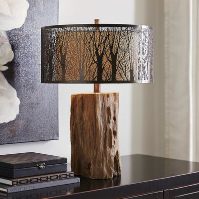 Etched Birches Lamp | Enchanted Forest Big Girl Room ... - photo#31